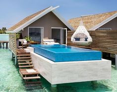 Stunning Overwater Pool Villa  via @PrestigeLiving | Tag someone who would love this view  - Add the.luxurylife on Snapchat . - Do not forget to Turn on Post Notifications. - Checkout our blog at http://ift.tt/2bL6bXE  via LUXURY LIFE MAGAZINE OFFICIAL INSTAGRAM - Luxury  Lifestyle  Culture  Travel  Tech  Gadgets  Jewelry  Cars  Gaming  Entertainment  Fitness