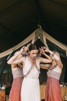 Nina and Sebastian's Kenyan Wedding Will Take Your Breath Away