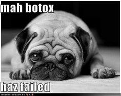 Botox failure!