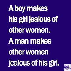 "Madea Simmons; ""a boy makes his girl jealous of other women.....A man makes other females jealous of his girl."""