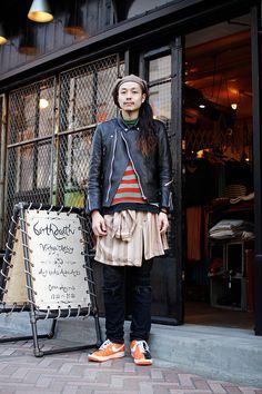 ストリートスナップ | リョウ | birthdeath 店長 | 渋谷 (東京)