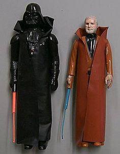 Darth Vader and Obi Wan Kenobi Telescoping First Shots - Star Wars Collectors Archive