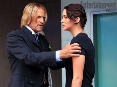 New Hunger Games still, Haymitch & Katniss