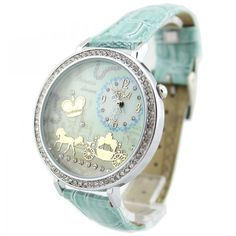 Mint Green Polymer Clay Carriage Watch $29.99 but no longer available