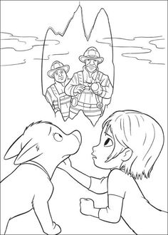 Bolt Coloring Pages 44