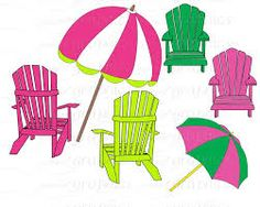 Clip Art French Al Fresco Cafe Table With Red And White
