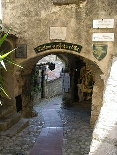 Eze, France  You will find me here when we win the lottery.... It was my favorite place in France