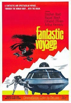 Fantastic Voyage (Viaje alucinante) (1966) Best Movie Posters, Classic Movie Posters, Movie Poster Art, Movie Titles, Movie List, Donald Pleasence, Science Fiction, Raquel Welch, Norman Rockwell