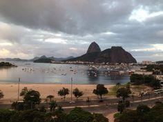 Dá pra acreditar que uma vista dessa possa vir de um shopping? Botafogo - Rio de Janeiro, Brasil.