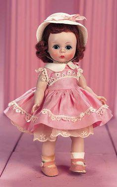 "Alexander-kins by Madame  Alexander (USA) —  8"" Hard Plastic Doll, c.1956  (449x720)"