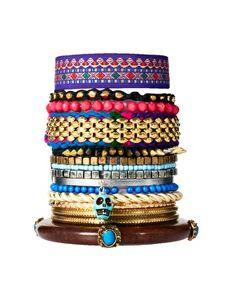 Enlarge River Island Eclectic Friendship Bracelet Pack