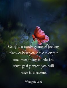 Grief is a nasty game ...
