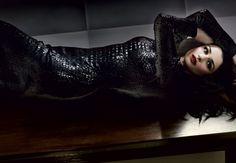 Rachel Weisz by Craig McDean for Vanity Fair || Dress by Tom Ford