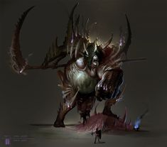 Creatures of the Otherworlds and Worldly horrors.