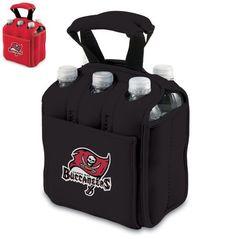 New 2014 Six Pack Beverage Cooler Tote Licensed NFC Tampa Bay Buccaneers #PicnicTime #FootBallSeason #preseason