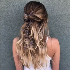 This summer braids are still popular, using ribbon and scarf on the hair is becoming more popular. Also messy updo is still popular and it is a very easy hairstyle to do. If you want to make big changes on your hair you can try short pixies or short bob. Very Easy Hairstyles, Cool Hairstyles, Gorgeous Hairstyles, Hairstyle Ideas, Braided Hairstyles For Long Hair, Fishtail Hairstyles, Easy Summer Hairstyles, Elegant Hairstyles, Summer Braids