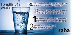 Drink your water! www.sabaforlife.com/cherylgrimes