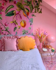 Dream Bedroom, Living Area, Shells, Cushions, Tapestry, House Design, Interior, Inspiration, Instagram