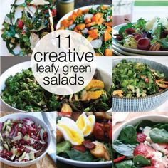 Move Over, Lettuce! 11 Creative Leafy Green Salads