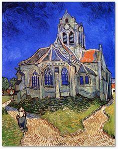 Vincent van Gogh La chiesa di Auvers