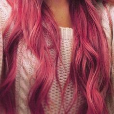 Been trying to find a nice dusty rose/pink hair colour...think it looks so nice.