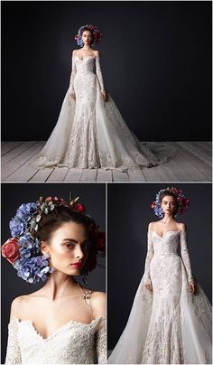 These Wedding Dresses are Undoubtedly a Fashion Statement: Rami Al Ali Wedding…