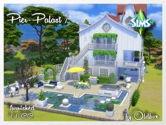 All4Sims: Pier Palast 1 by Oldbox • Sims 4 Downloads