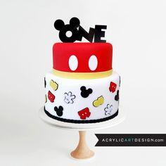 Items similar to Mickey Mouse Cake Topper. Fourth Birthday . Four Birthday . Acrylic on Etsy Bolo Mickey E Minnie, Mickey Mouse Cake Topper, Theme Mickey, Mickey Cakes, Mickie Mouse Cake, Pastel Mickey Mouse Niño, Fiesta Mickey Mouse, Mickey Mouse Parties, Mickey Party