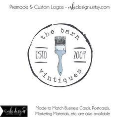 Premade Logo logo Paiting insignia de la casa la por MLAdesigns