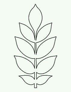 Paper flower leaves template yolarnetonic paper flower leaves template mightylinksfo
