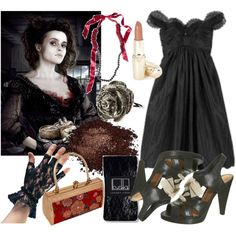 """""""Mrs. Lovett"""" from Sweeney Todd by walnutwhale on Polyvore"""