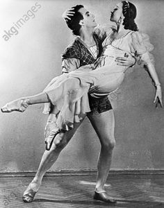 akg-images -Romeo and Juliet / Ballet / Scene with Galina Ulanova and Yury Zhdanov / Photo, 1956Prokofiev, Sergei Sergeyevich, 1891 – 1953, Russian and Soviet composer, pianist and conductor. Works: Romeo and Juliet (ballet), 1935.  Scene with Yury Zhdanov and Galina Ulanova as Romeo and Juliet.  Photo, 1956.