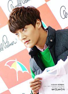 Choi Jin-Hyuk ~ Arnold Palmer Fan Sign Event Choi Jin Hyuk, Pride And Prejudice, Korean Actors, Kdrama, Dragon Heart, Arnold Palmer, Celebrities, Fans, Asian