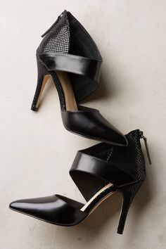 """- By Soles Future Told - Fits true to size - Back zip - Leather upper, insole - Synthetic sole - 4"""" leather wrapped heel - Imported"""