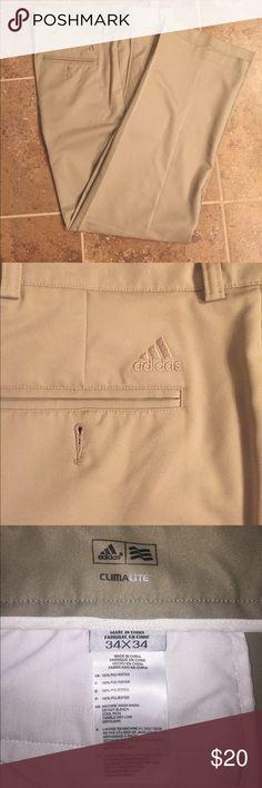 Men's Adidas Golf pants Men's Addis khaki Golf pants (Clima Lite) Adidas Pants Chinos & Khakis