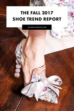 Come fall, every fashion girl will be wearing these shoes.