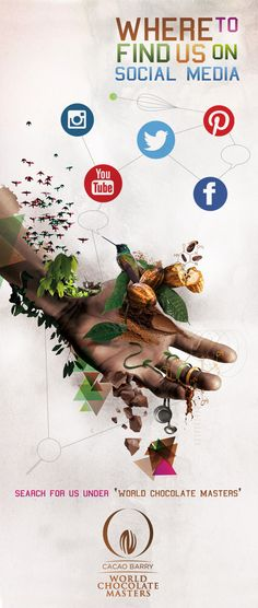 World Chocolate Masters 2015 goes Social...