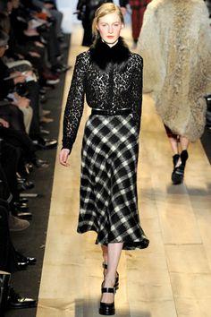 Fall 2012 RTW, Designer: Michael Kors, Model: Julia Nobis