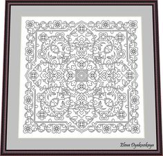 Blackwork Patterns, Needlepoint Patterns, Cross Stitch Patterns, Blackwork Cross Stitch, Cross Stitching, Tree Of Life Images, New Home Cards, Tree Patterns, Criss Cross