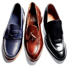 #delortaeagency love men's loafers left Ralph Lauren middle Barker Black right Gucci | Delortae Agency