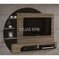 """Painel Para Tv Gênesis - EDN Móveis -Acompanha Suporte para TV -Suporta Tv de até 52"""" -Prateleira Disponibilidade: Em estoque R$539,90 10x de R$53,99 ou R$458,92 no Boleto ou Transferência"""
