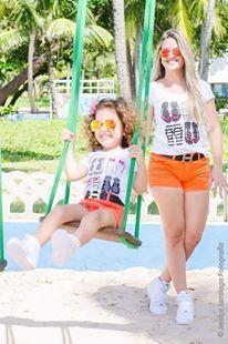 T-shirt Chinelos tal mãe & tal filha.  Vendas através do whats 17 997359289