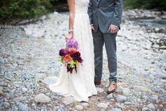 Photography : Sea Studio Read More on SMP: http://www.stylemepretty.com/washington-weddings/2014/06/09/diy-wedding-at-treehouse-point/