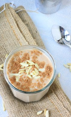 Rich, creamy, and sinfully delicious, this healthy Mexican Chocolate Banana Almond Breakfast Shake is just what you need when you're craving something chocolaty without the extra calories!