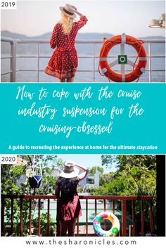 While you may not be able to go on a cruise right now, here are some ideas on how you can recreate the experience at home for the ultimate staycation! Travel Humor, Cruise Vacation, Some Ideas, Staycation, Us Travel, Passport, Caribbean, Wanderlust, Community
