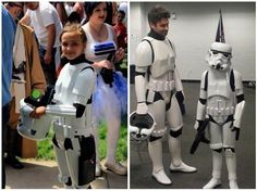 Little Girl's Stormtrooper Armor Fends Off The Bullies [Cosplay]