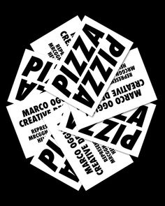 In my new rebranding I didn't want to insert any logo or icons, just the word Pizza.Pizza is a typical Italian dish and I am a typical Italian boy.The pizza identifies me because it is universal, everyone likes it and is the subject of international po… Pizza Branding, Pizza Logo, Food Branding, Business Branding, Business Card Design, Branding Design, Logo Design, Pizza Pizza, Business Cards