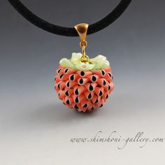 My favorite bead so far:) Played more and pushed a little bit further Eva Ehmeier's technique