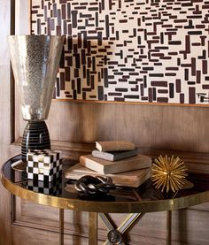A neutral palette can be bold, using lots of variation in pattern and texture. (Kelly Wearstler)