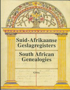 SA Genealogies Vol 16